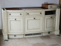 Kitchen cabinets. Softened antique drag. Smallbone of Devizes