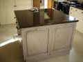 Hand-painted kitchen. Previously oak